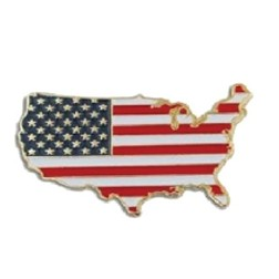 Stock Flag Pins (USA)