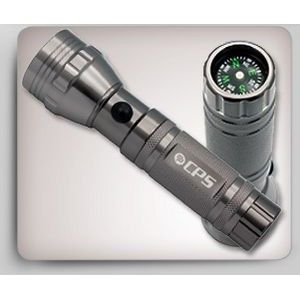 Aster 15 White LED Flashlight w/Compas
