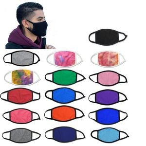 Facemask 2 PLY 100% Cotton thicker and breathable, 185GSM,free shipping to 48 states